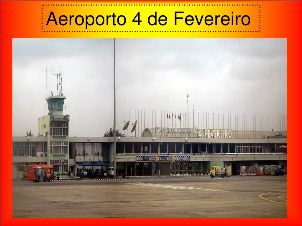 Aeroporto 4 de Fevereiro