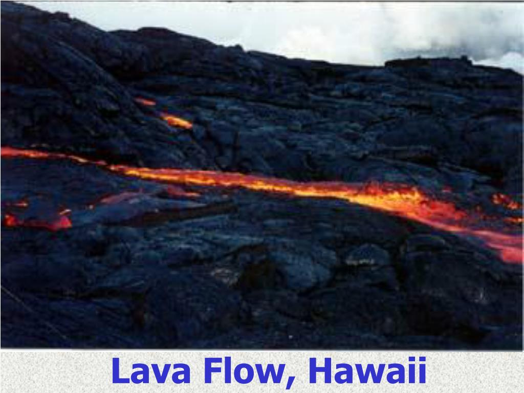 Lava Flow, Hawaii