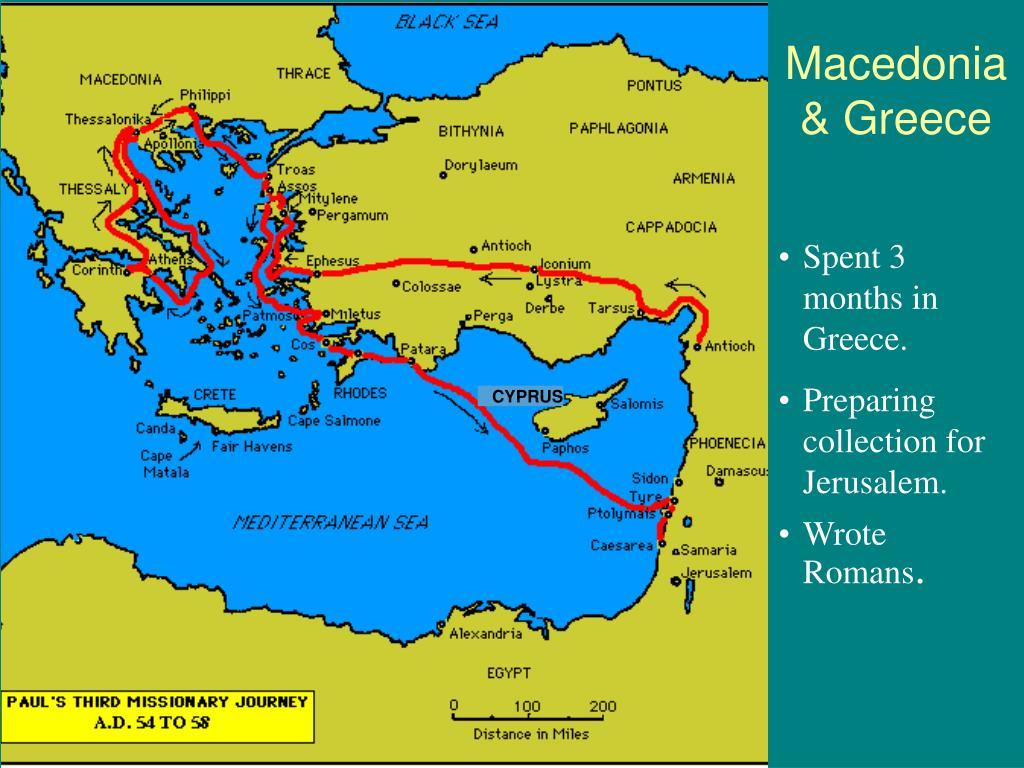 sermons mission church journey greece troas