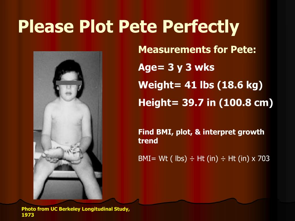 Please Plot Pete Perfectly