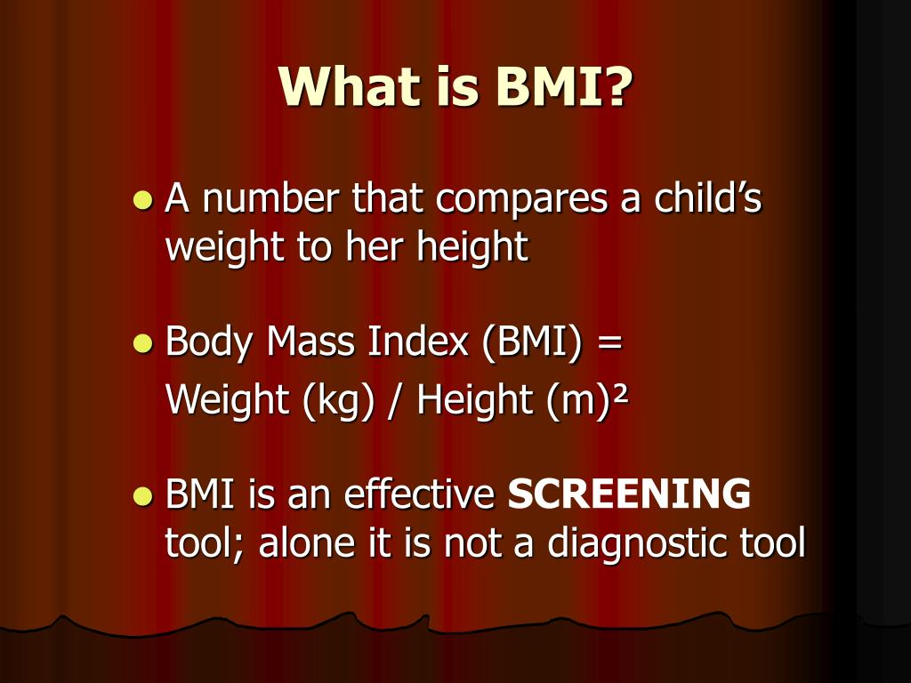 What is BMI?