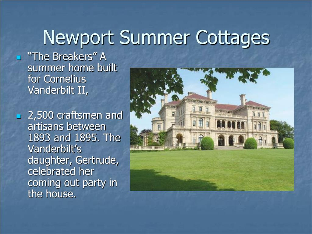 Newport Summer Cottages