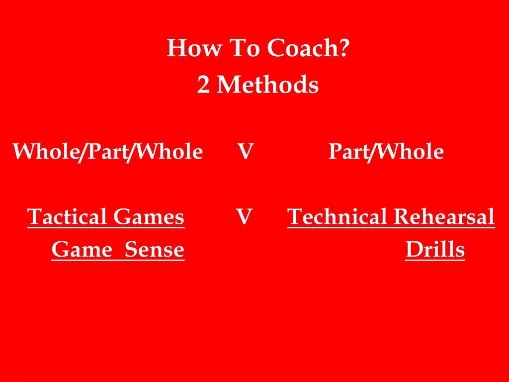 How To Coach?