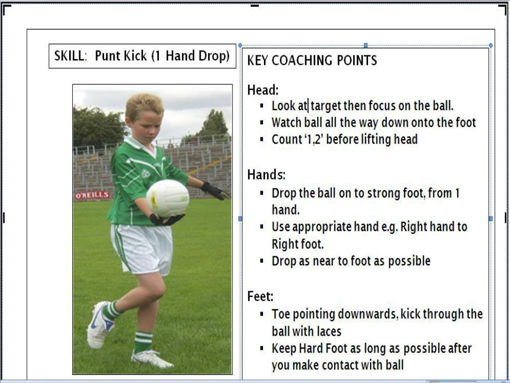 The Punt skill card
