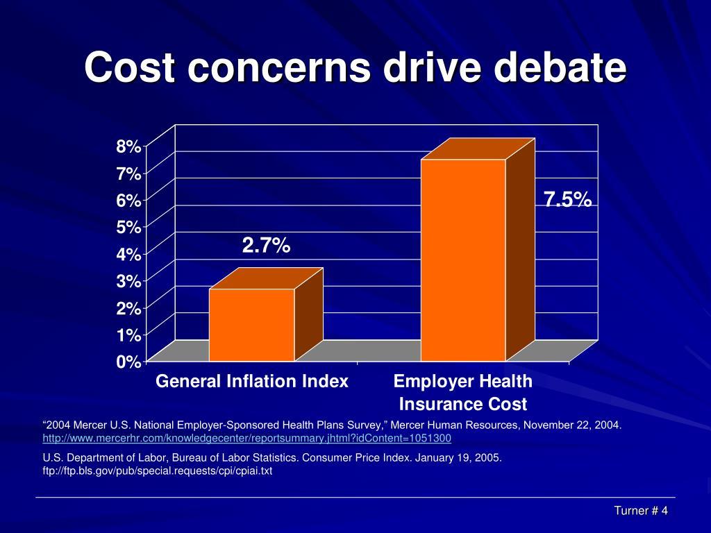 Cost concerns drive debate