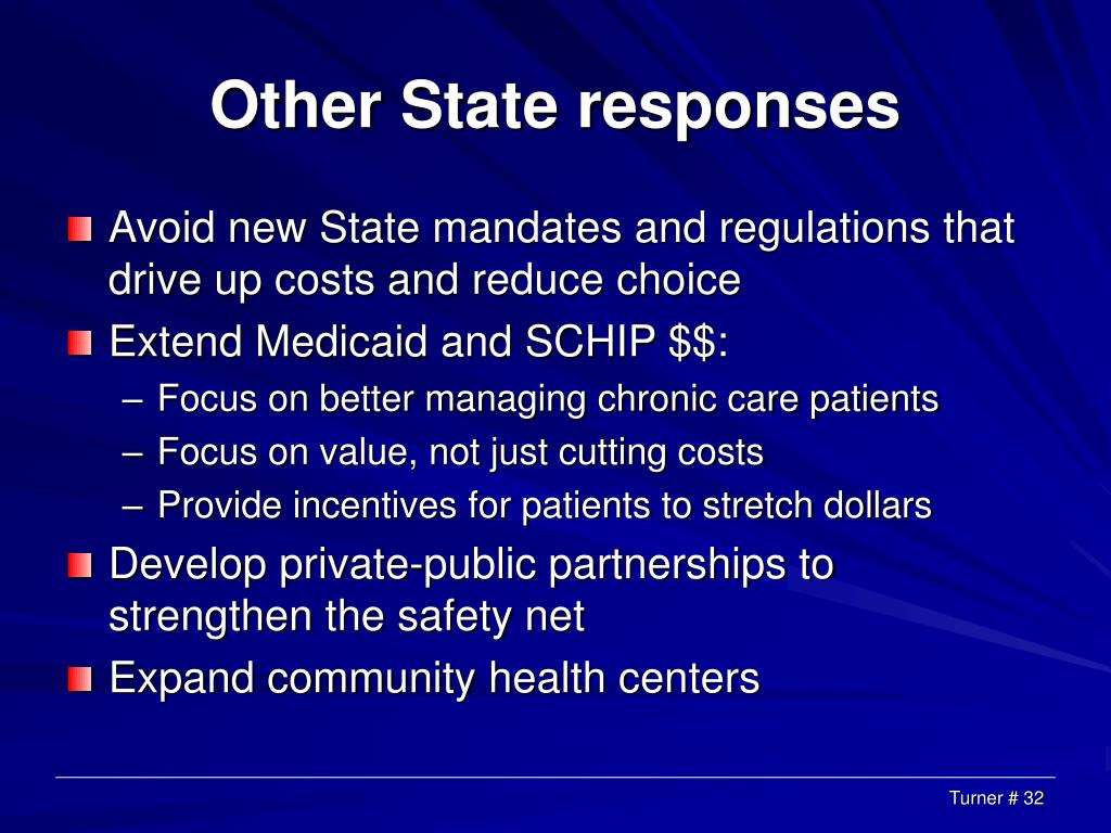 Other State responses