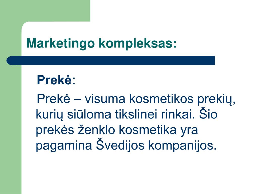 Marketingo kompleksas: