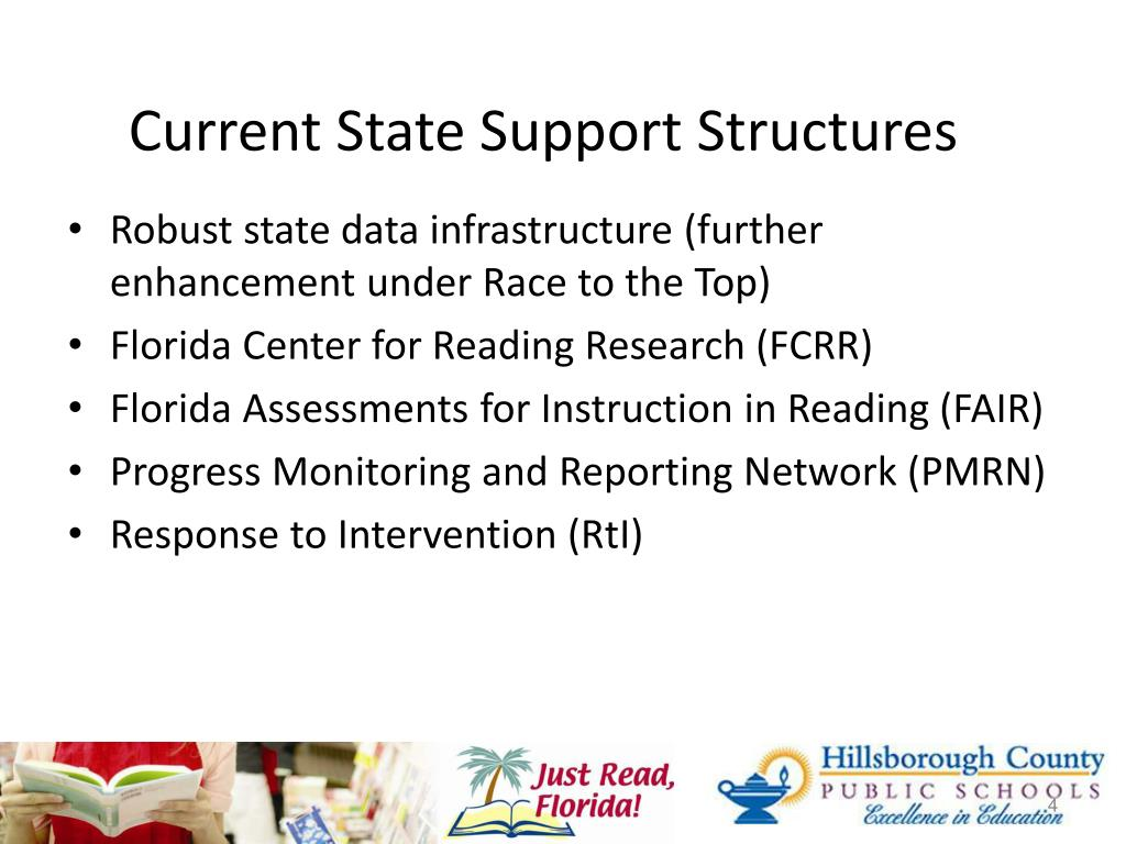 Current State Support Structures