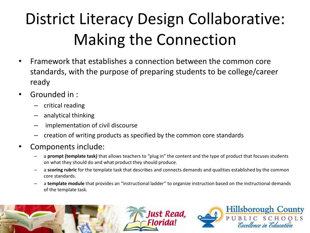 District Literacy Design Collaborative:
