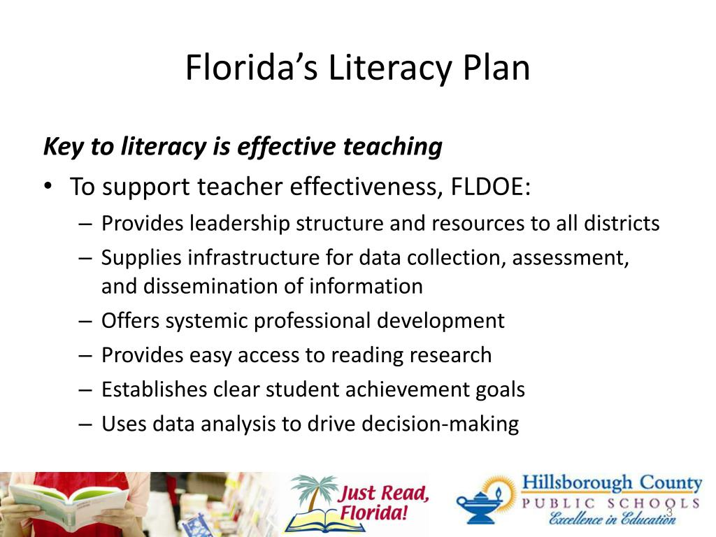 Florida's Literacy Plan