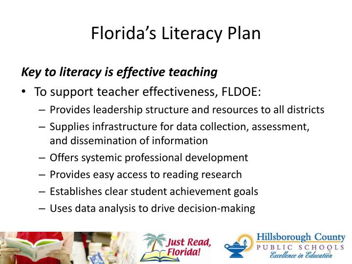 Florida s literacy plan