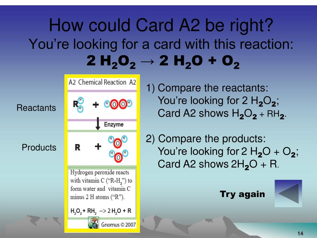 How could Card A2 be right?