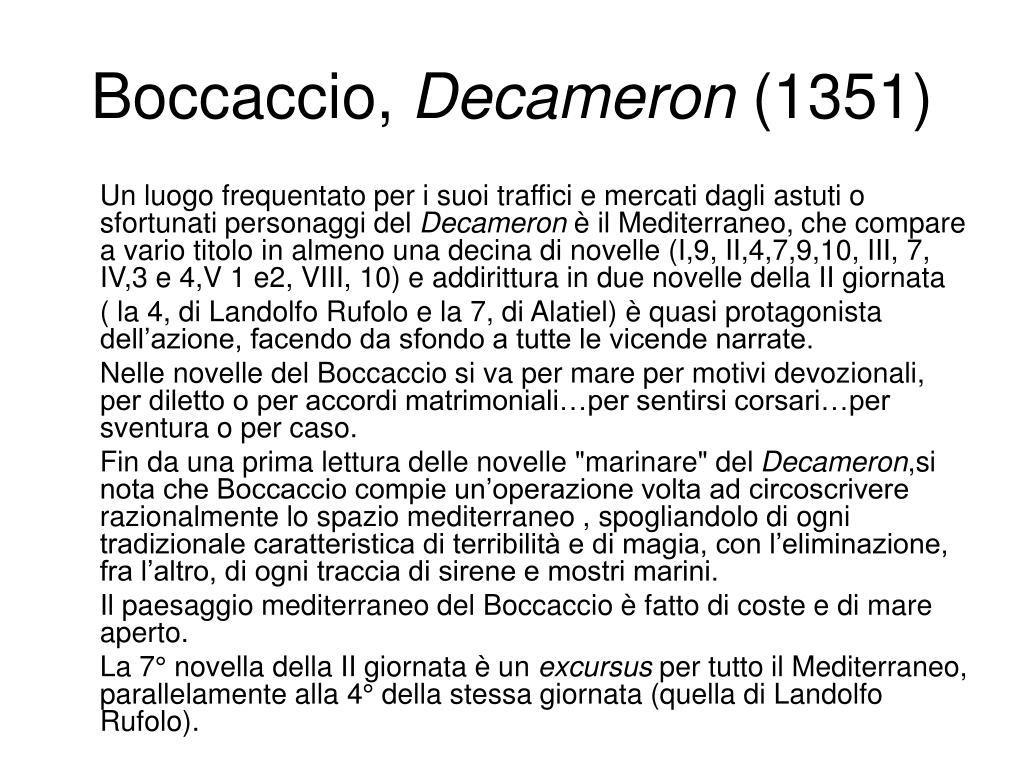 Boccaccio,