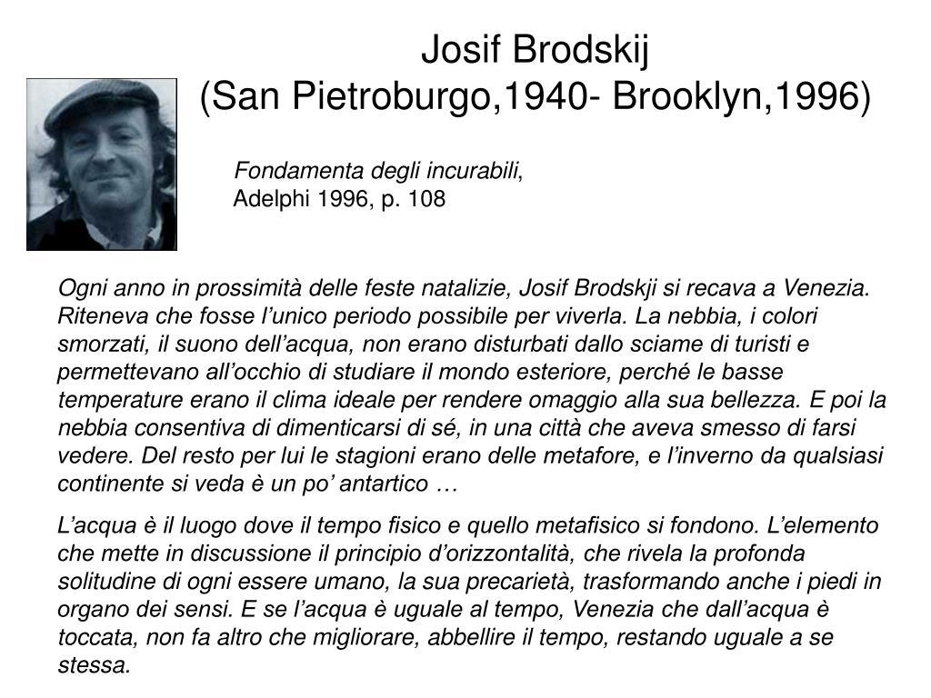 Josif Brodskij