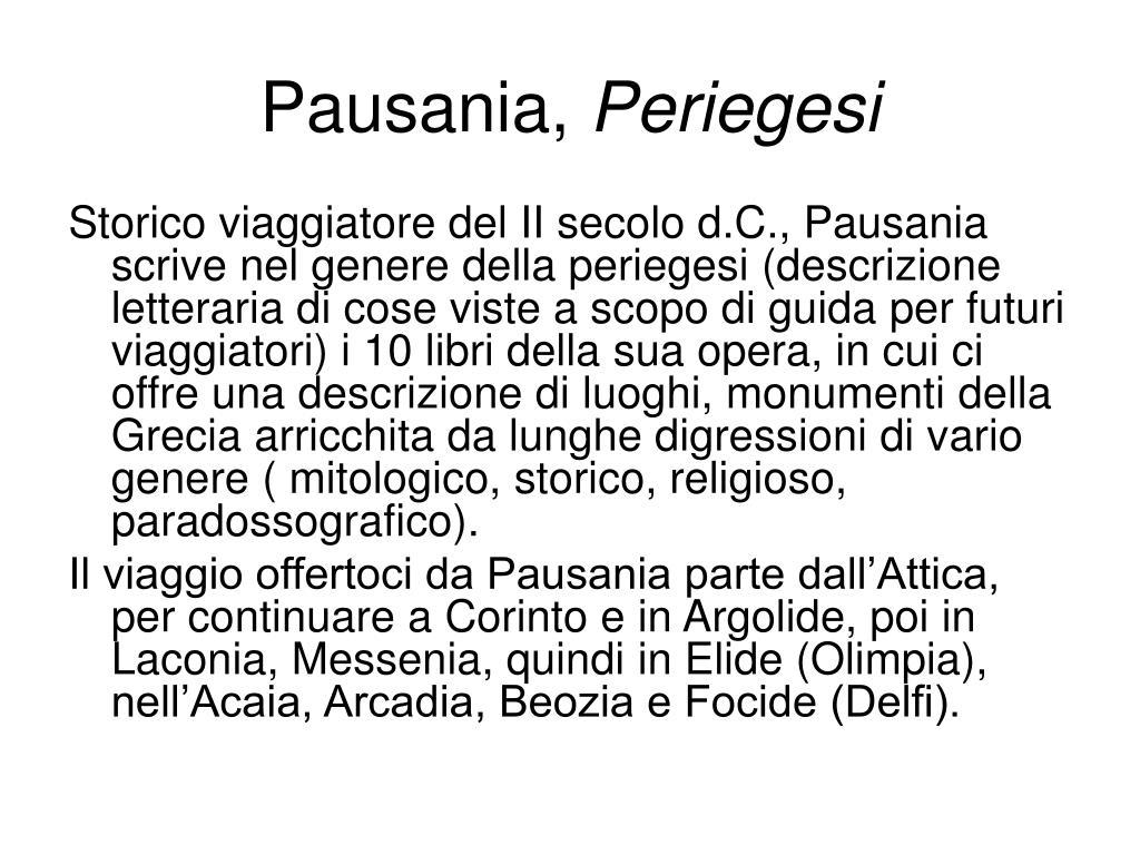 Pausania,