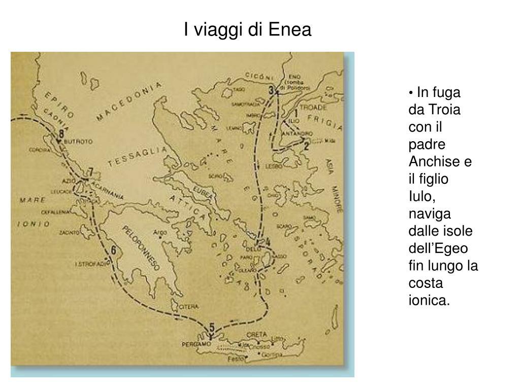 I viaggi di Enea