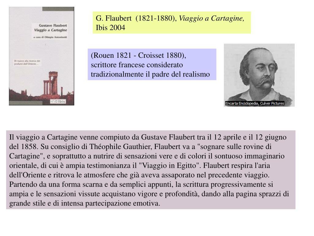 G. Flaubert  (1821-1880),