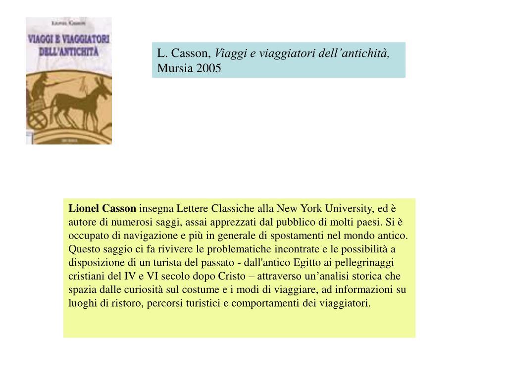 L. Casson,