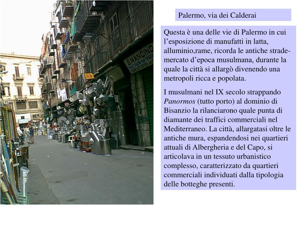 Palermo, via dei Calderai