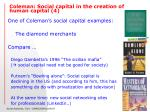 coleman social capital in the creation of human capital 4