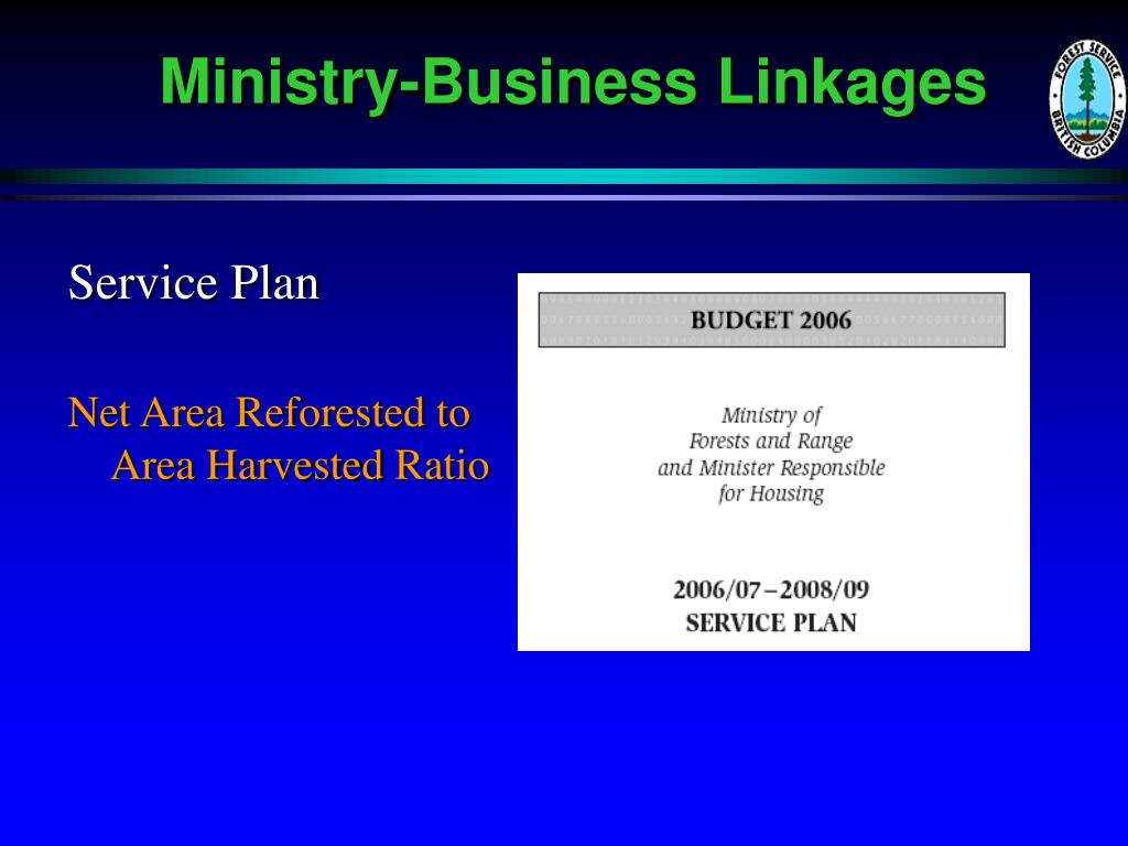 Ministry-Business Linkages