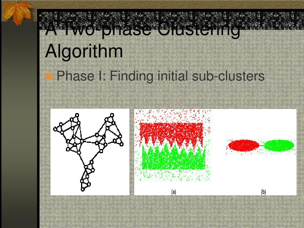A Two-phase Clustering Algorithm