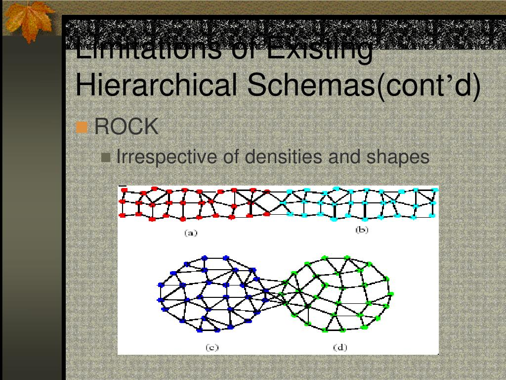 Limitations of Existing Hierarchical Schemas(cont