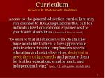 curriculum concerns for students with disabilities13