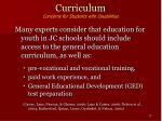 curriculum concerns for students with disabilities17