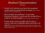 student characteristics overview4