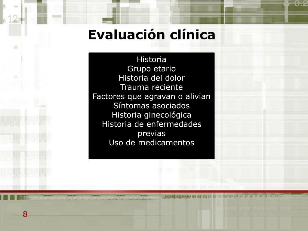 Evaluación clínica