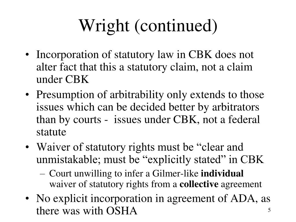 Wright (continued)