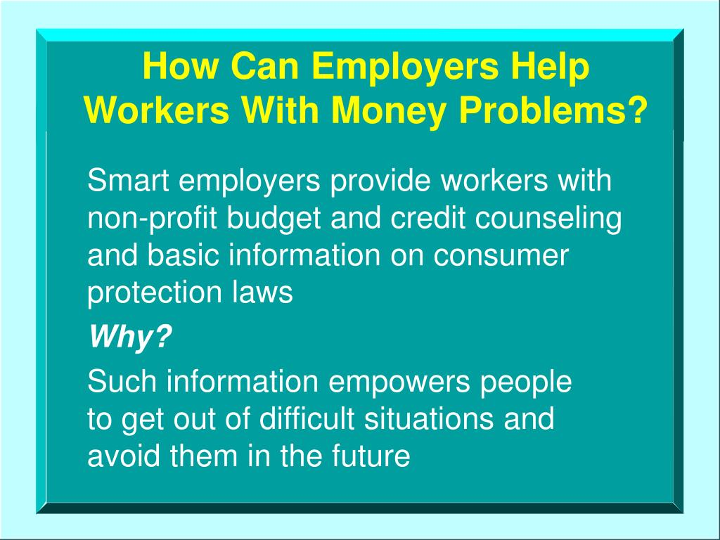How Can Employers Help