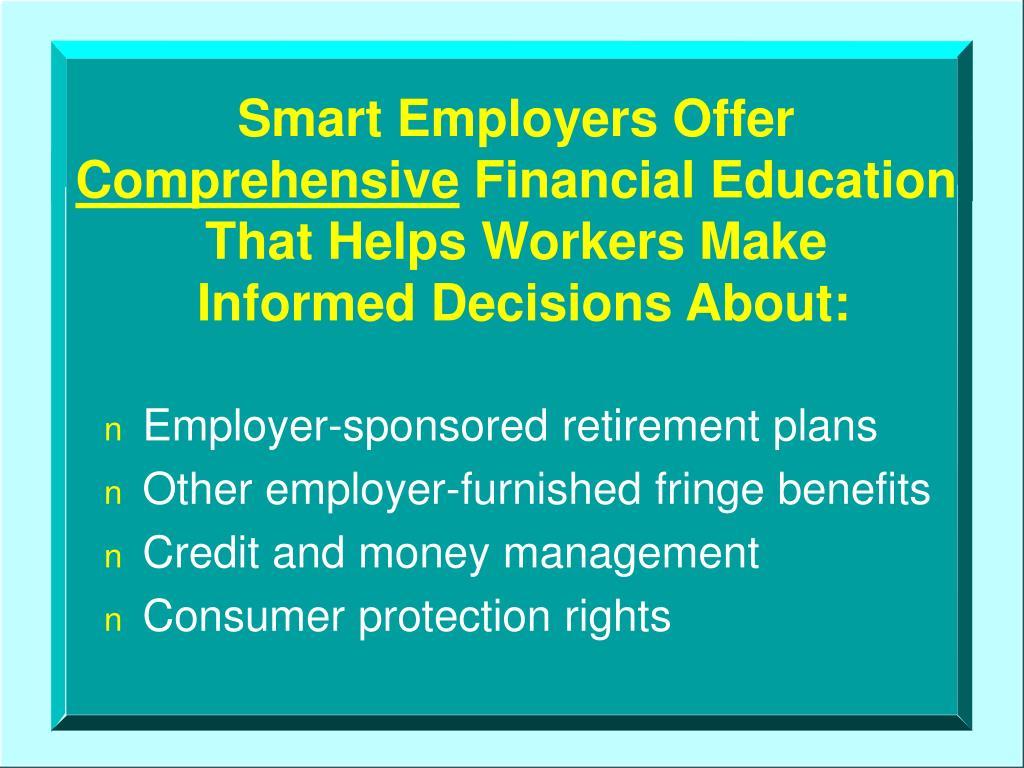 Smart Employers Offer