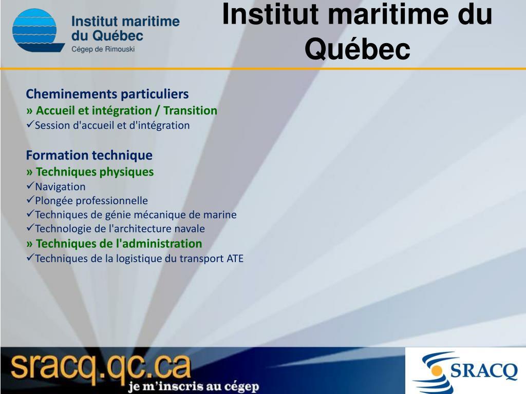 Institut maritime du Québec