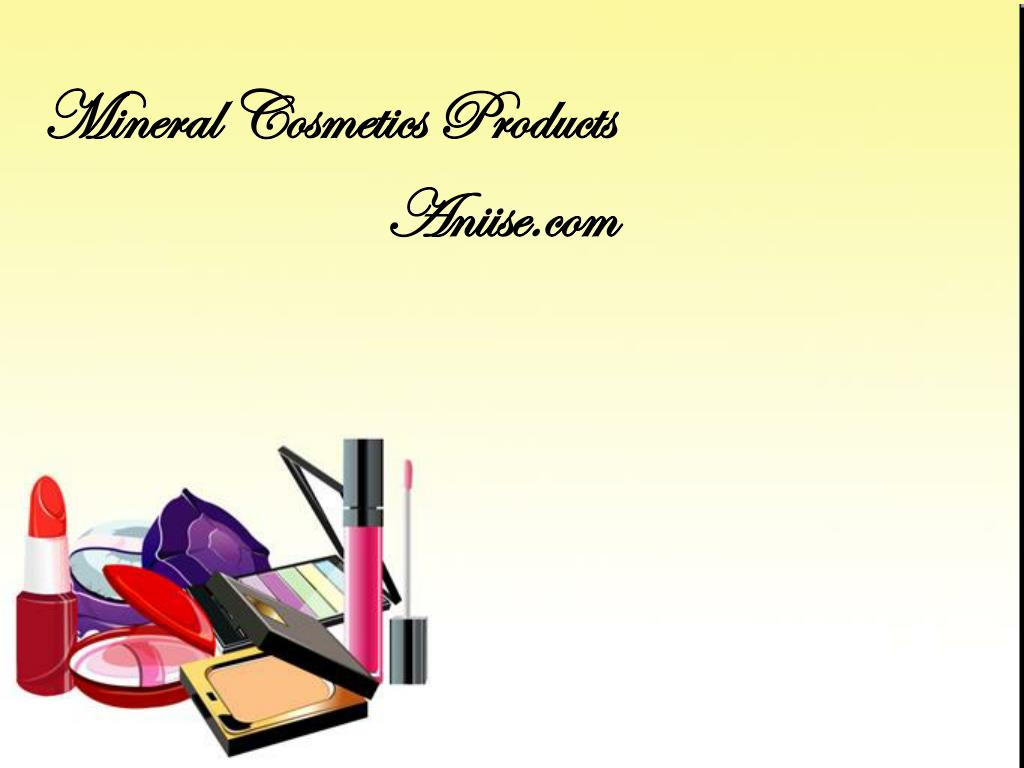 Mineral Cosmetics Products