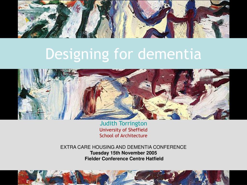 designing for dementia