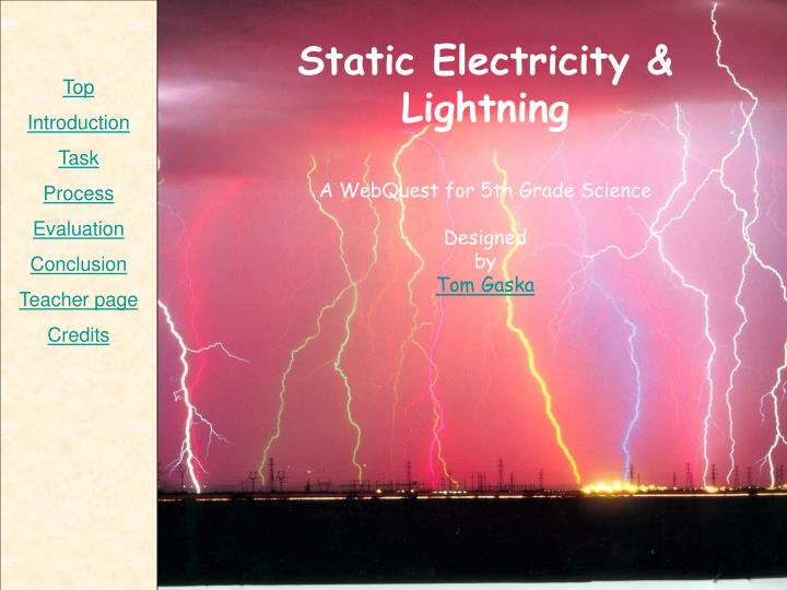 Static Electricity & Lightning