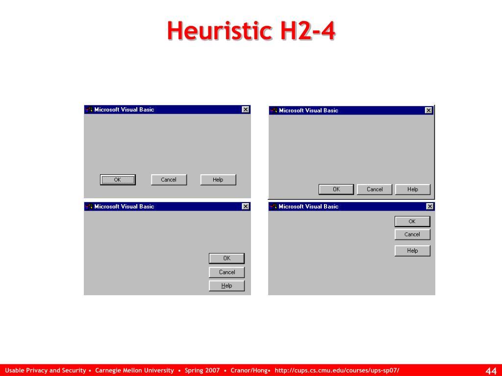 Heuristic H2-4