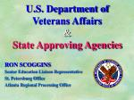 u s department of veterans affairs state approving agencies