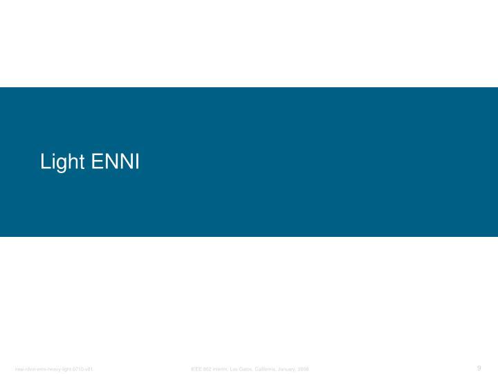 Light ENNI