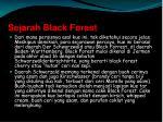 sejarah black forest
