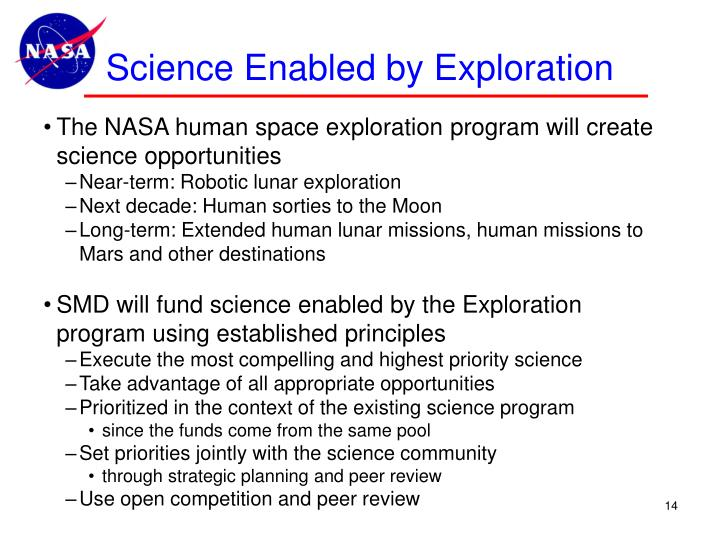 Science Enabled by Exploration