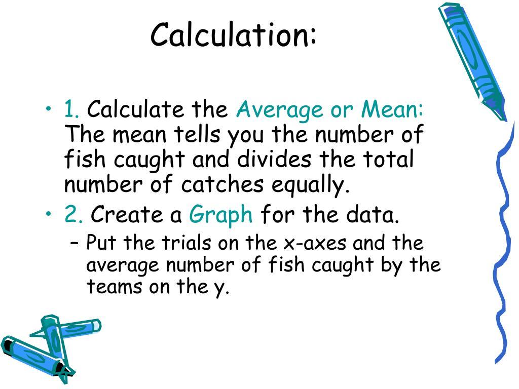Calculation: