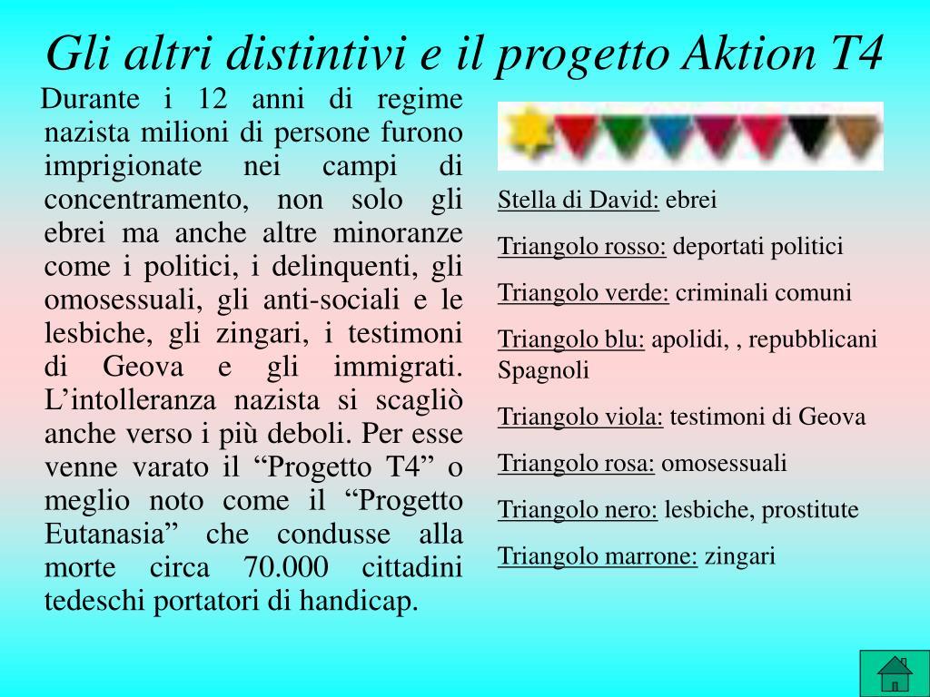 Gli altri distintivi e il progetto Aktion T4