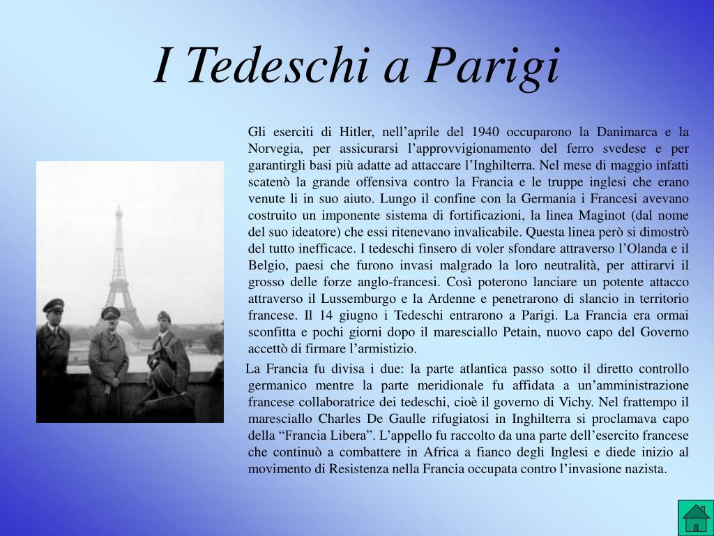 I Tedeschi a Parigi