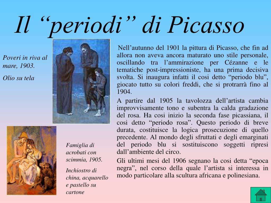 """Il """"periodi"""" di Picasso"""