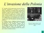 l invasione della polonia
