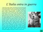 l italia entra in guerra