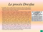 le proc s dreyfus